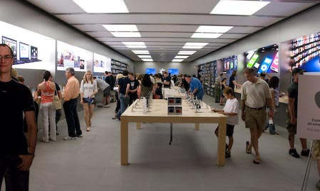 Apple Store Somerset Remodel