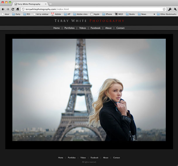 Lightroom Web Gallery Templates