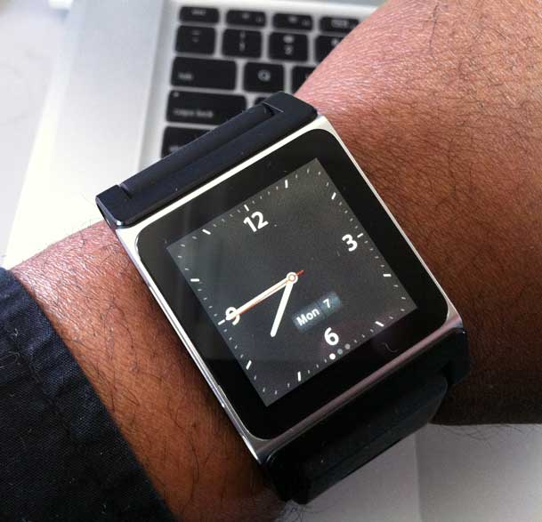 My New Watch is an iPod nano - Terry White's Tech Blog