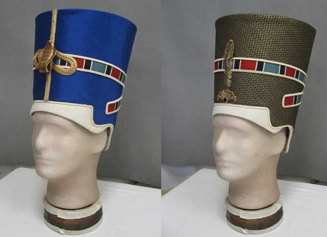 how to make a egyptian crown