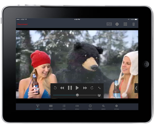 Slingbox-iPad