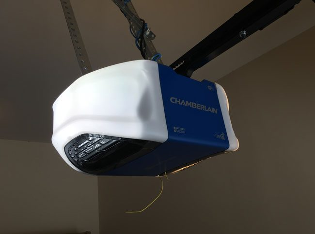 Chamberlain Smartphone Controlled Wifi Garage Door Opener Review