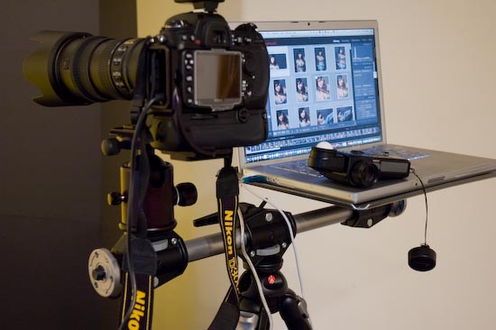 Shooting tethered to an HDTV - Terry White's Tech Blog