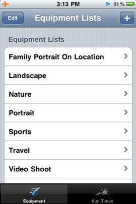 equipmentlists