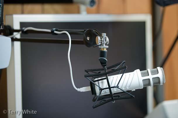 Rode Podcaster in my studio