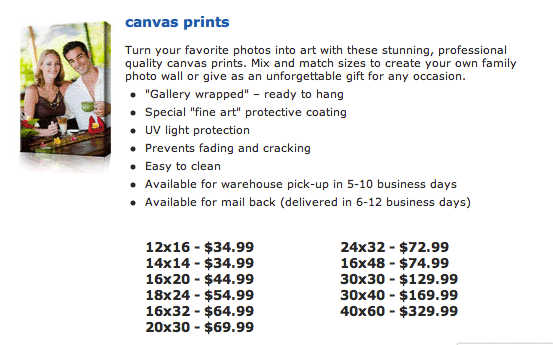 Costco Does Canvas Gallery Wraps Too?! - Terry White\'s Tech Blog
