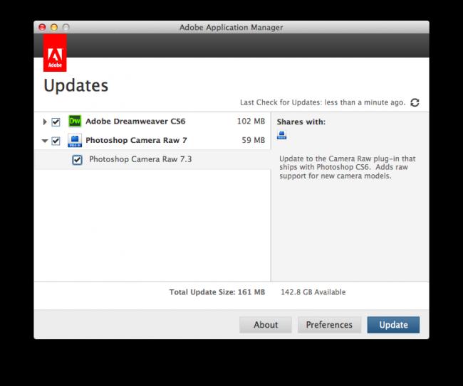 Adobe Application ManagerScreenSnapz002