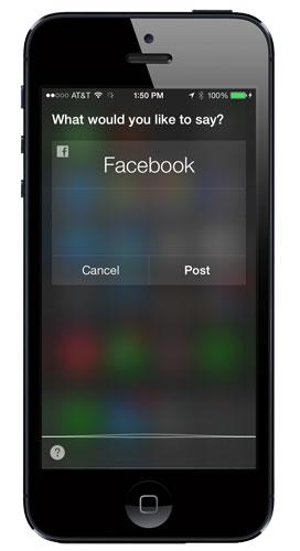 siri-iOS7-posttofacebook