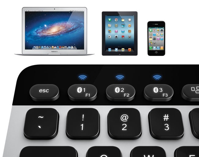 3083ae015a3 Usually bluetooth keyboards can only be connected to one device at a time.  If you paired an Apple Keyboard with your iPad and your Mac, whichever  device ...