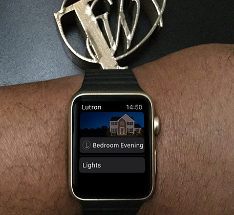 Lutron Caséta on Apple Watch