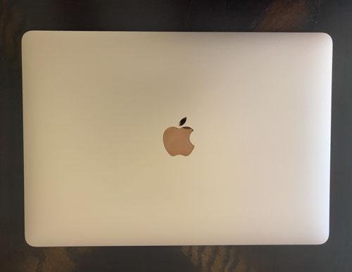 Gold MacBook Air