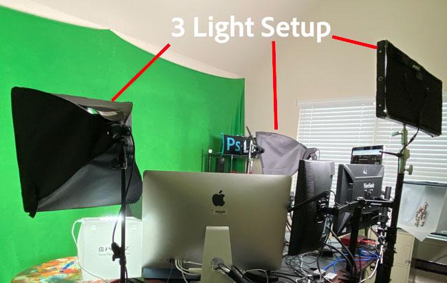 3 Light Setup