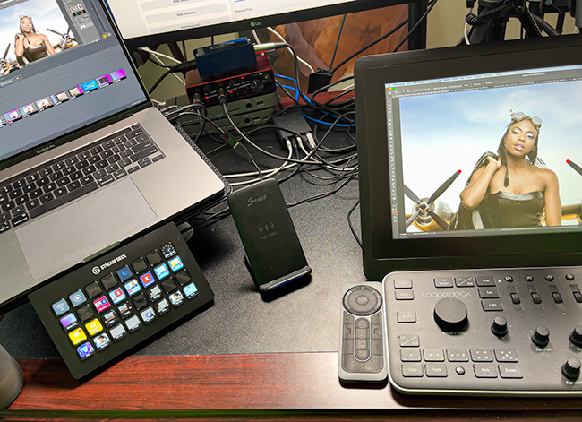 Streamdeck and MBP