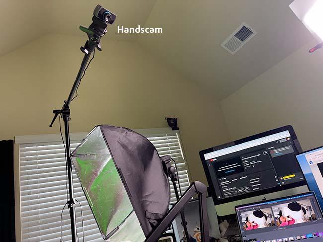 Overhead Handscam